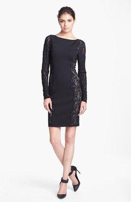 Tracy Reese Lace Side Sheath Dress