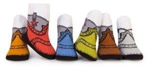 Trumpette Infant's Cowboy Six-Piece Sock Set