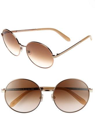 Kate Spade Round 56mm Sunglasses
