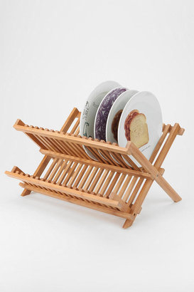 Urban Outfitters Bamboo Dish Rack