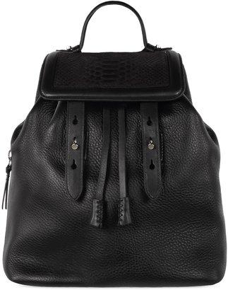 Mackage Tanner Black Backpack Bag