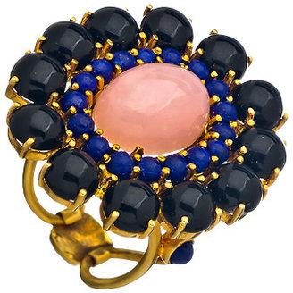 Divya Diamond Mystic Bloom Cocktail Ring