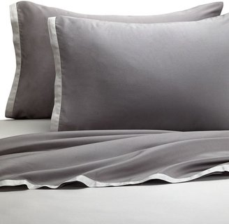 Kas Two Tone Light Grey/Dark Grey Sheet Set