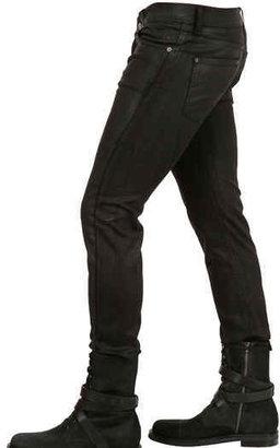 Karl Lagerfeld 16,5cm Waxed Denim Stretch Skinny Jeans