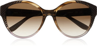 Chloé Cat eye acetate sunglasses