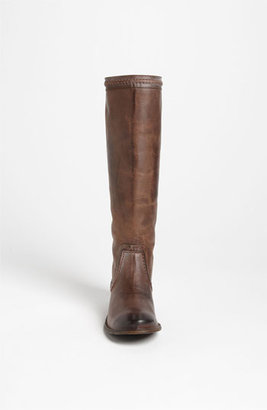 Frye 'Paige Trapunto' Boot Womens Dark Brown Antique Leather Size 11 M 11 M