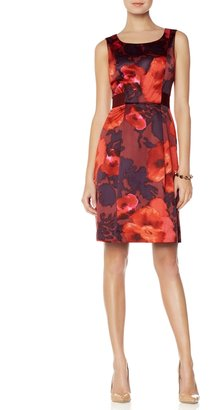 The Limited Floral Fit and Flare Dress