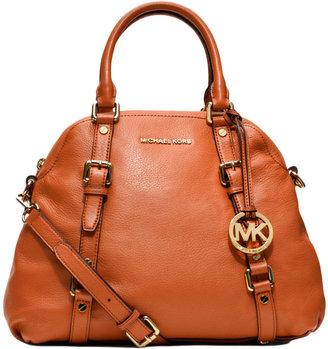 MICHAEL Michael Kors Bedford Leather Bowling Satchel Bag