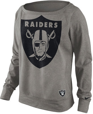 Nike Women's Sweatshirt, NFL Dri-FIT Raiders