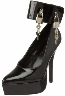 Pleaser USA Women's INDULGE-534/B Platform Pump