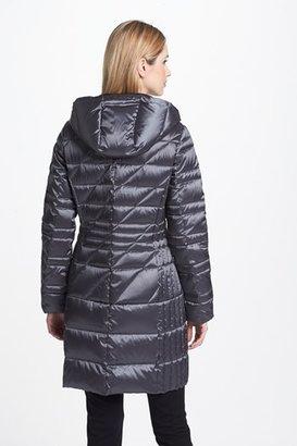 Bernardo Hooded Packable Goose Down Walking Coat (Regular & Petite) (Nordstrom Exclusive)