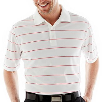 JCPenney ST ANDREWS St. Andrews of Scotland Golf Pinstriped Polo Shirt