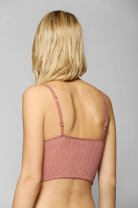 Urban Outfitters Pins And Needles Crochet Bralette