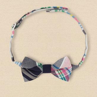 Children's Place Plaid bow tie
