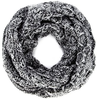 Sole Society Marled Knit Infinity Scarf