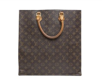 Louis Vuitton Pre-Owned Monogram Canvas Sac Plat Bag