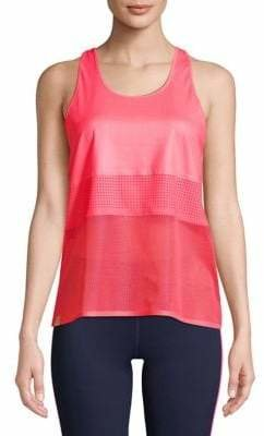 Monreal London Mesh Panel Racerback Tank Top