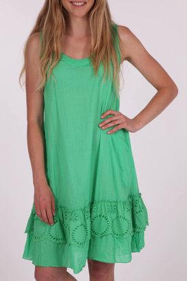 Naudic Guava Plain Dress