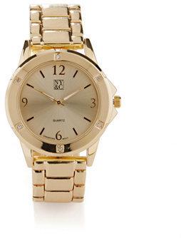 New York & Co. Sparkle Metallic Watch