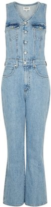 AGOLDE 70's Blue Denim Jumpsuit