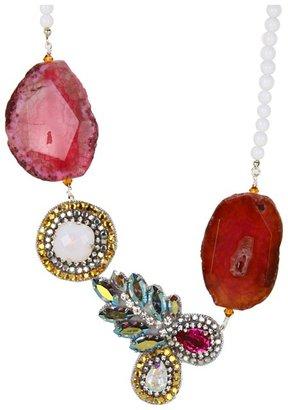 Ayana Designs - Della Necklace (Agate/Czech Glass) - Jewelry