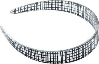 Ulta Black Plastic Geometric Headband