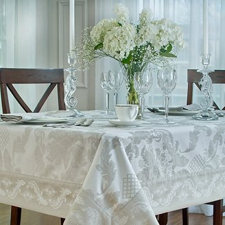 """Waterford Damascus"""" Tablecloth, 70"""" x 144"""""""