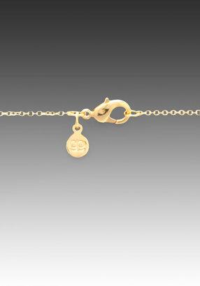 Gorjana Zig Zag Enamel Small Necklace