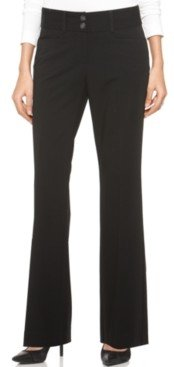 Alfani Curvy-Fit Slimming Bootcut Pants, Regular, Short, & Long Lengths, Created for Macy's