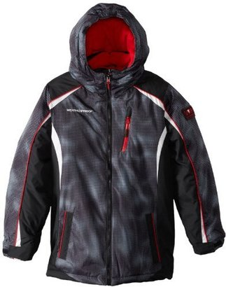 Weatherproof Boys 2-7 Ski Jacket with Attached Inner Vestee Bib