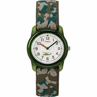 Timex Boys T78141 Time Machines Elastic Fabric Strap Watch