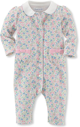Ralph Lauren Baby Girls' Printed Coveralls $29.50 thestylecure.com