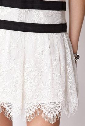 Forever 21 Heirloom Drop Waist Dress