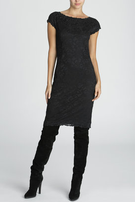 Josie Natori Dahila Beaded Dress