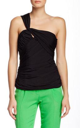L.A.M.B. Drape Knit Bustier $350 thestylecure.com