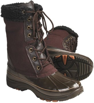 Khombu Highland 2 Suede Pac Boots - Waterproof, Faux-Fur Lining (For Women)