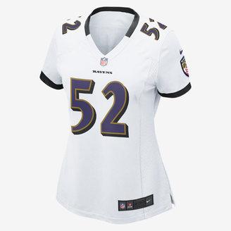 Nike NFL Baltimore Ravens Game Jersey (Ray Lewis) Women's Football Jersey