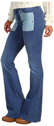 Genetic Denim The Shelby Patch Pocket Flare in Tumble