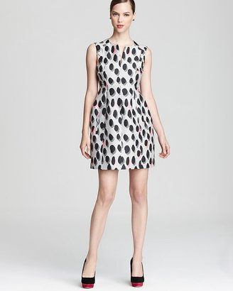 Diane von Furstenberg Dress - New Sumner Mini Animal Dots