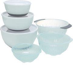 OXO Good Grips® 9-Piece Nesting Bowls & Colander Set