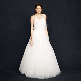 J.Crew Collection snowdrop tulle ball gown skirt
