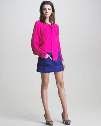 See by Chloe Five-Pocket Denim Miniskirt