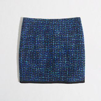 J.Crew Factory Factory royal tweed mini