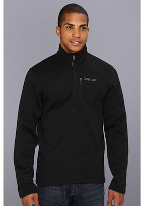 Marmot Drop Line 1/2 Zip (Black) Men's Jacket