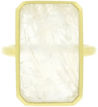 Irene Neuwirth rainbow moonstone ring