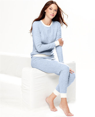 Cuddl Duds Top, Crew Neck Thermal Top