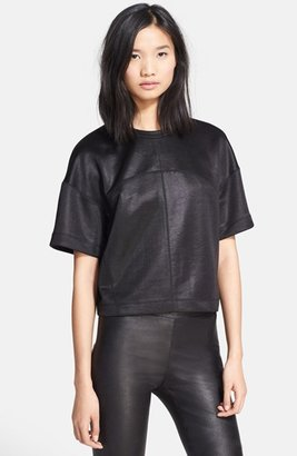 Alexander Wang Double Knit Boxy Top