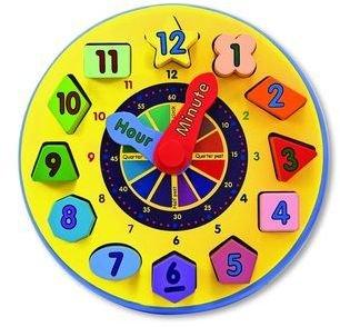 Carter's Melissa & Doug Shape Sorting Clock