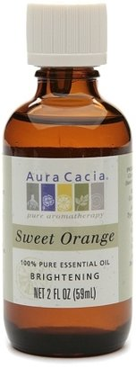 Aura Cacia Pure Essential Oil Brightening Orange