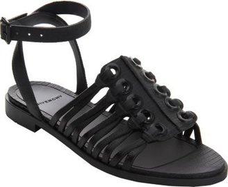 Givenchy Embossed Rubber Grommet Sandal